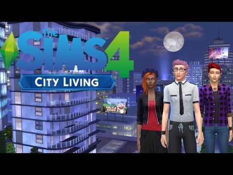 Let's Play Sims 4 - City Living   Part 1   Leon Gets Glitched!