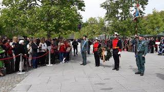 Homenaje de la Guardia Civil en Pamplona a las víctimas de ETA