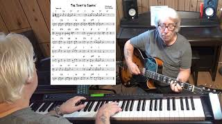 The Joint Is Jumpin' - Jazz guitar & piano cover ( Fats Waller )