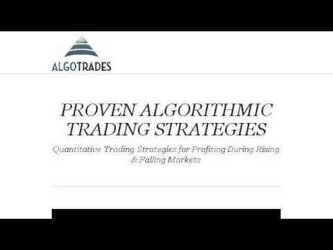 Algorithm Trading Strategy