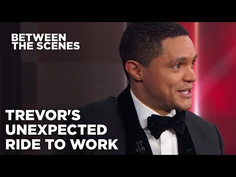 Davie Beatz - Trevor Noah Explains His Ride in a NYC Street Sweeper