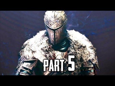 Dark Souls 2 Gameplay Walkthrough Part 5 - Dragonrider & Old Dragonslayer Bosses (DS2)