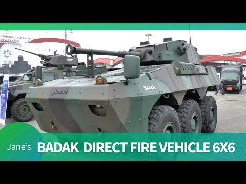 Indo Defence 2018: PT Pindad Badak Fire Support Vehicle