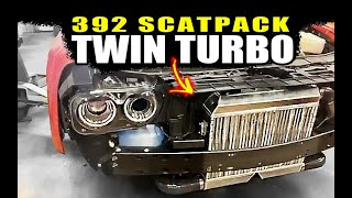 Twin Turbos INSTALLED Scatpack 392