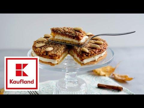Kaufland: Medovo-orechový koláč s mascarpone