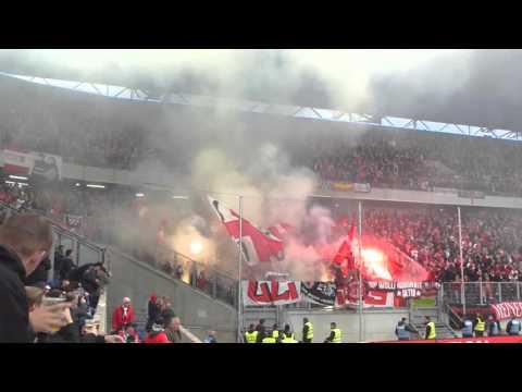 Bengalo Alarm - Spielunterbrechung Chaos | MSV Duisburg - Fortuna Düsseldorf | 29.04.16  F95