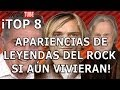 ¡TOP 8 APARIENCIAS DE LEYENDAS DEL ROCK SI AÚN VIVIERAN!