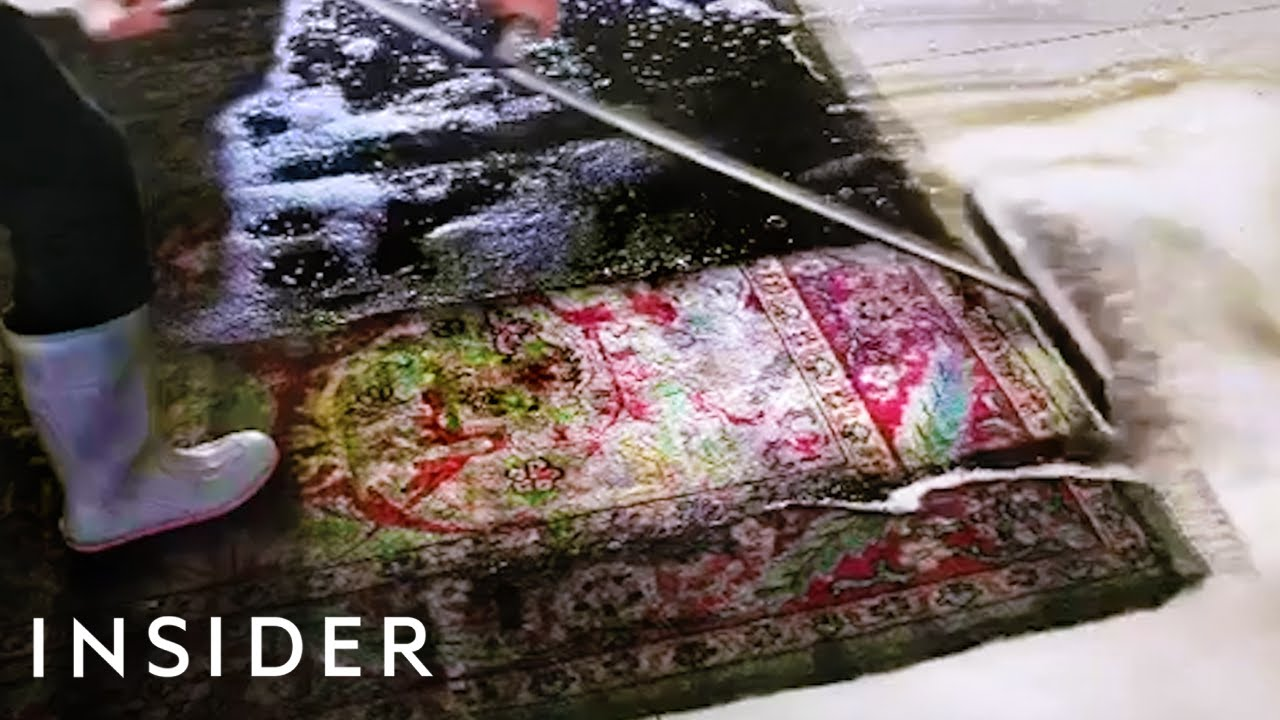 How The Dirtiest Rugs Get