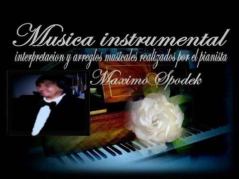 MUSICA INSTRUMENTAL ROMANTICA DE ITALIA, E PENSO A TE, PIENSO EN TI, EN PIANO Y ARREGLO MUSICAL