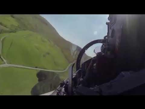 EMMIT FENN Control - Cockpit view of ultra low flying jet