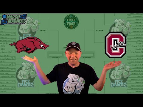 Arkansas vs Colgate 3/19/21 Free College Basketball Pick and Prediction NCAA Tournament