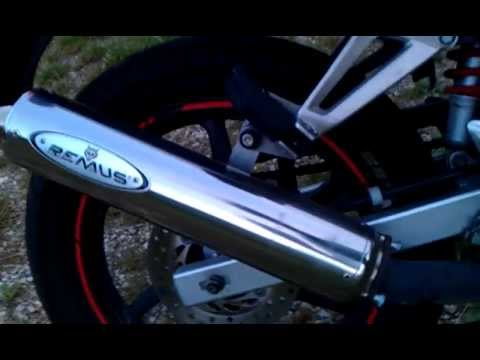 honda cbr 125 sportauspuff remus exhaust youtube. Black Bedroom Furniture Sets. Home Design Ideas