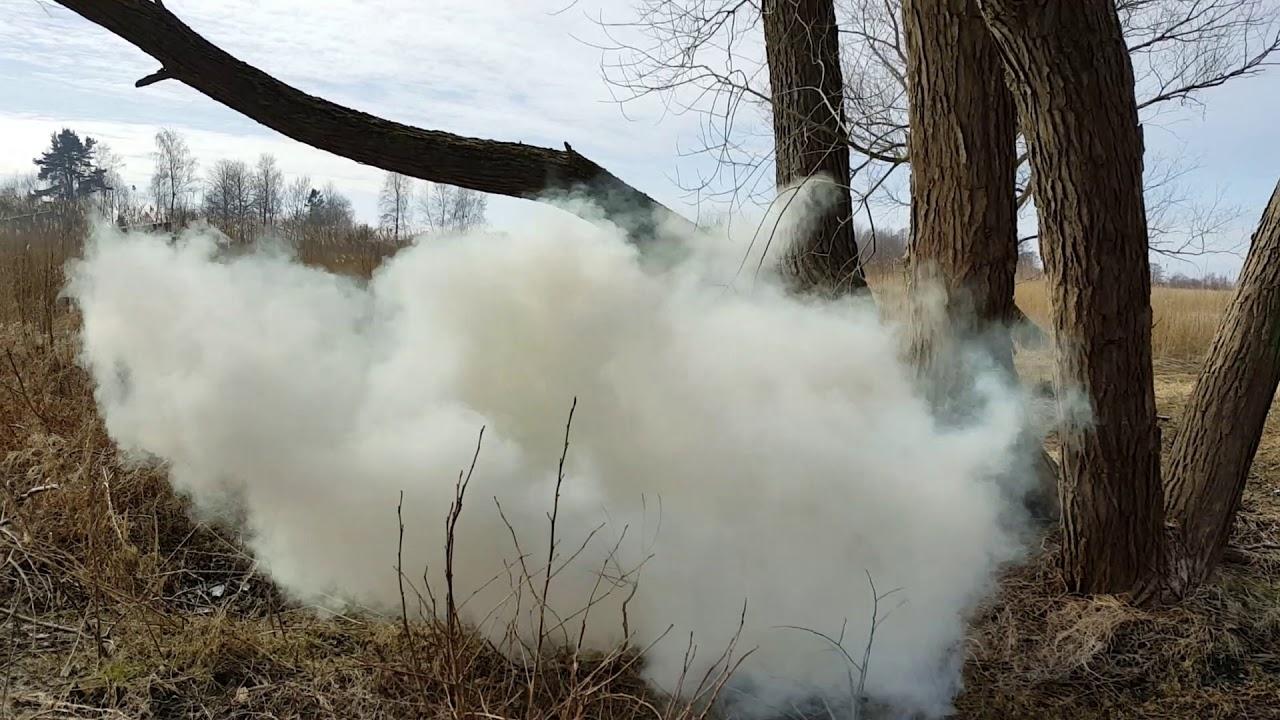 Взрыв самодельной гранаты