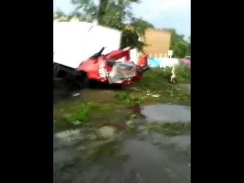 Ураган в Шигонах натворил бед