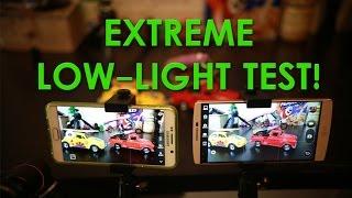 Note 5 vs LG V10 EXTREME LOW LIGHT Camera Test!