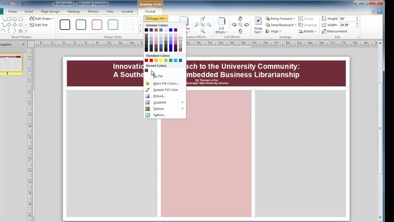 Design banner in publisher - Design Banner In Publisher 0