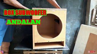 CARA MEMBUAT BOX SUBWOOFER 12 INCH