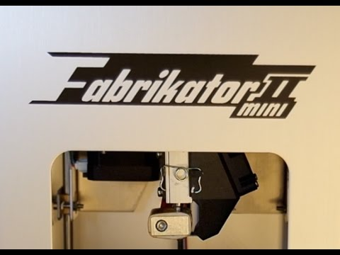 3d printer mini fabrikator v2 review test results