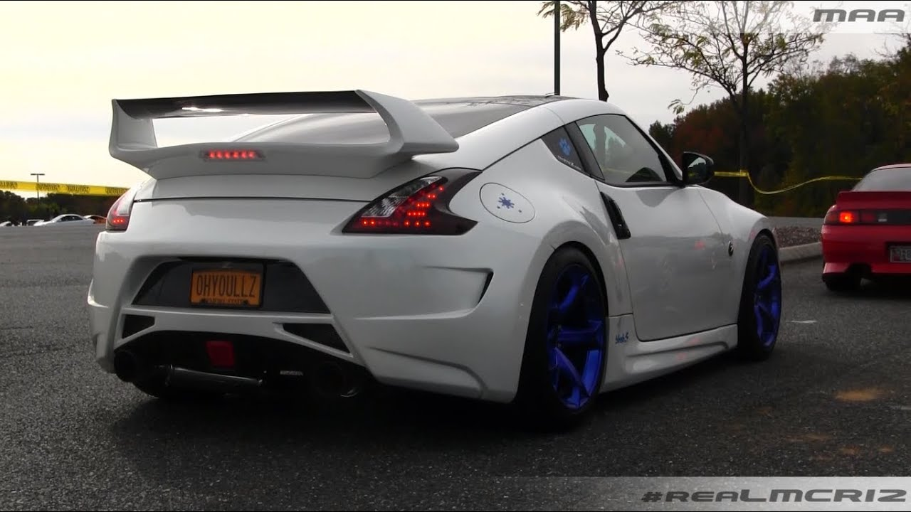 Tuner Evolution Hot Nissan 370z Youtube