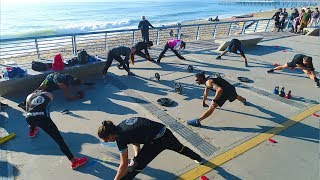 Tabata Group Fitness | Beach Workout in Chile (w/PortalesFit)