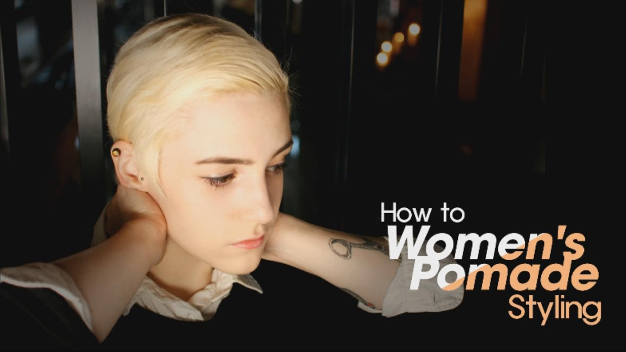 how to style your hair with pomade subtitles how to s pomade styling pompadour for 7434