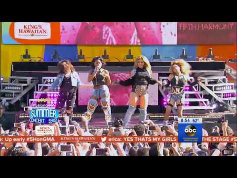 Fifth Harmony  - Worth It (Live on Good Morning America)