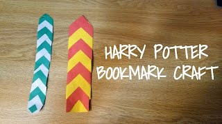 Harry Potter Bookmark Craft