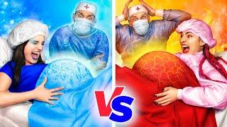 Sıcak Hamile & Soğuk Hamile! Komik Hamilelik Durum