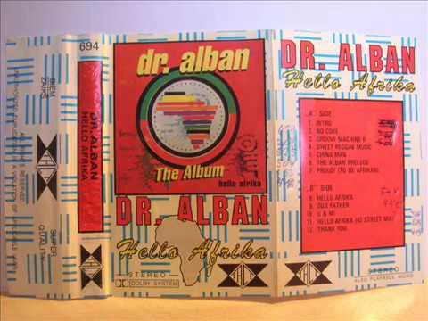 Dr. Alban - album ''Hello Afrika'' (HQ cassette)