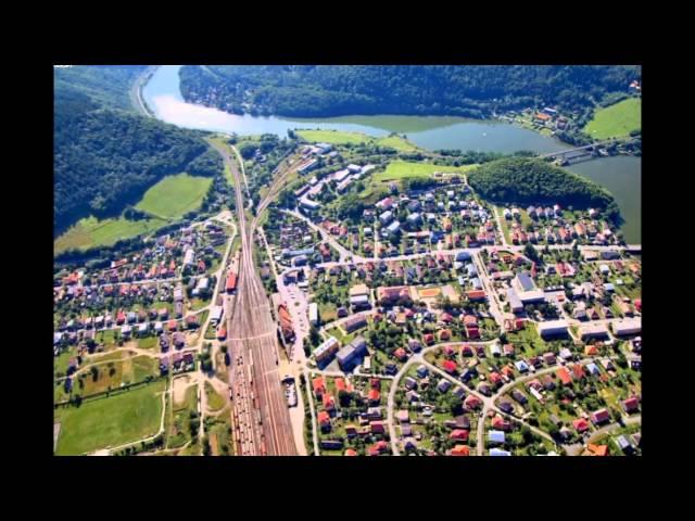 Letecké zábery obce Margecany