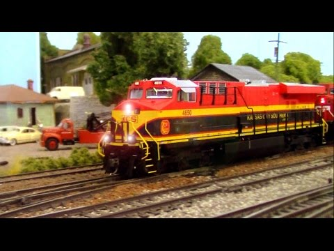 RAILROAD REMIX! HO Scale: Kansas City Southern
