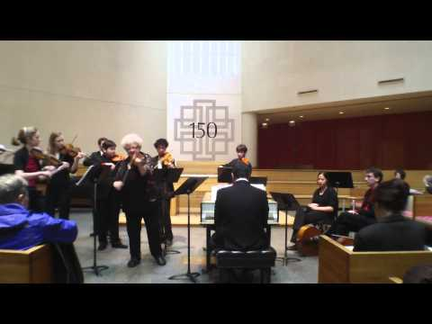 New York Baroque Inc and Monica Huggett Perform Vivaldi
