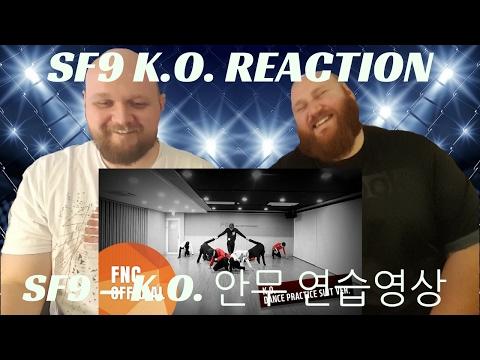 SF9 – K.O. 안무 연습영상 REACTION VIDEO