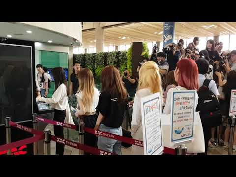 170726 Red Velvet At Gimpo Airport