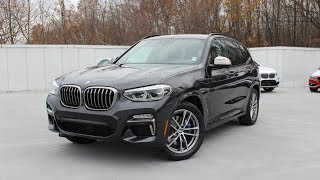 2018 BMW X3 M40i: In Depth First Person Look