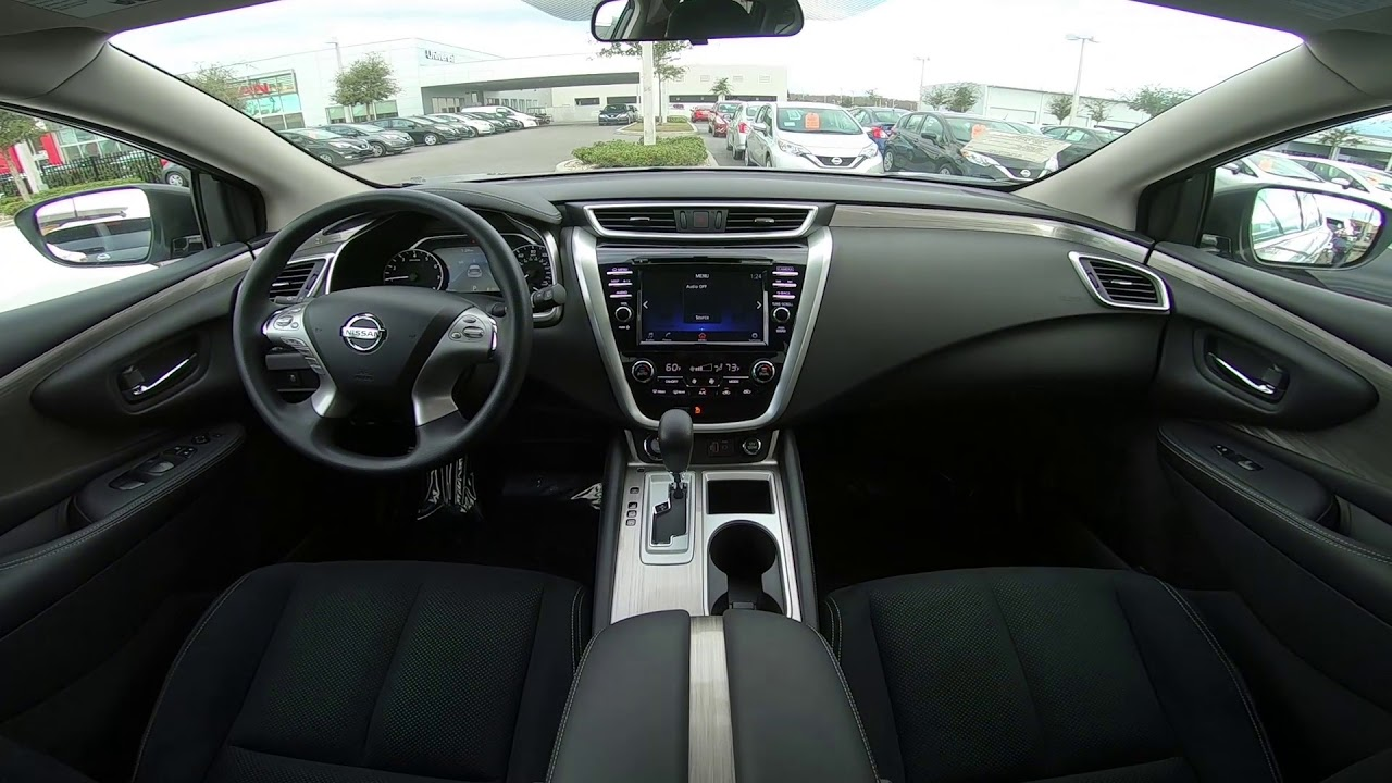 2018 Nissan Murano S Interior Youtube