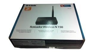 [Tutorial] Configurando Roteador DIR-610 D-Link