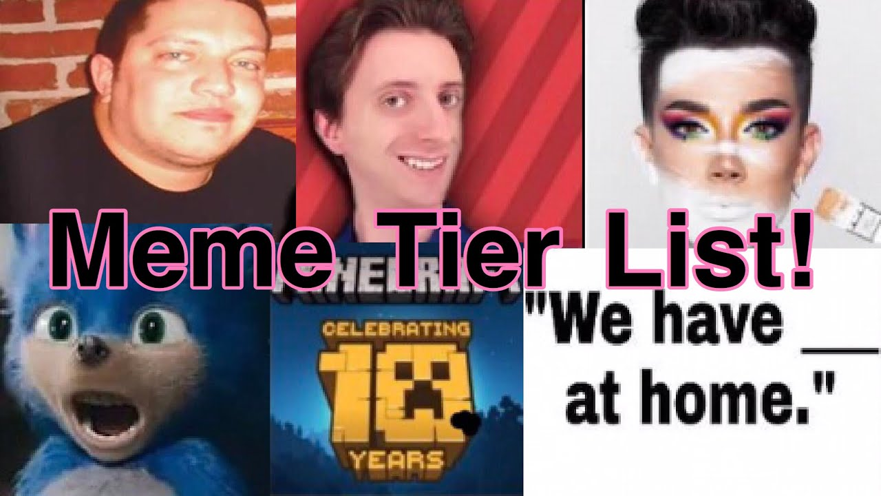 Meme Tier List! - YouTube