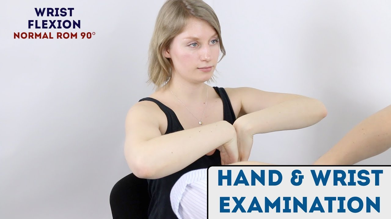 Download Hand and Wrist Examination - OSCE Guide (new)