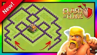 Clash of Clans - Novo layout de ''PUSH'' para Cv7 ''Anti Estrelas'' ''Anti PT'' '' 2018 ''