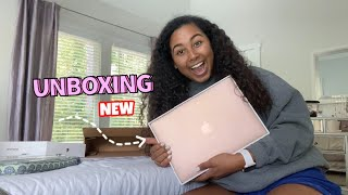 2020 MACBOOK AIR UNBOXING ROSEGOLD + SETUP
