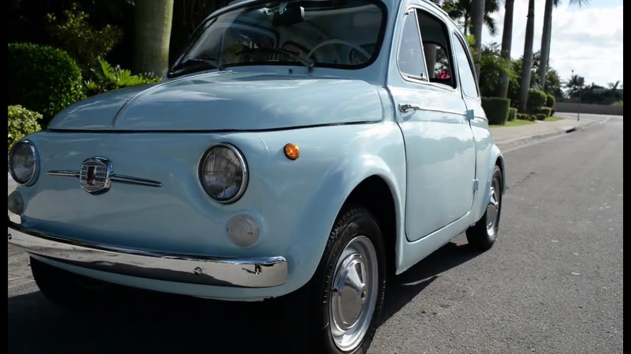 1963 FIAT 500 Competition Saloon Chassis no. 110-0529096 | Cars ...