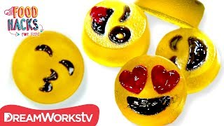 Gummy Emojis + MORE! | FOOD HACKS FOR KIDS