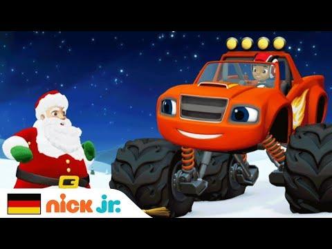 Weihnachten I Reisehymne Mit Blaze Und Die Monster-Maschinen I Nick Jr. Auf Deutsch