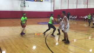 James Weaver, #2, PG/SF Highlights from the Barnstorm Basketball Tri State Tip-off tournament in Fl