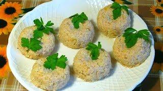 Мясные Кексы С Капустой / Кексы - Голубцы / Meat Muffins With Cabbage