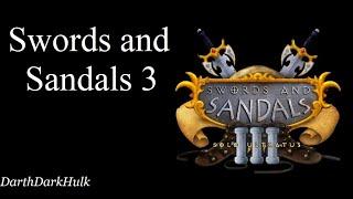 Swords and Sandals 3 (Gameplay sin comentar).- DarthDarkHulk