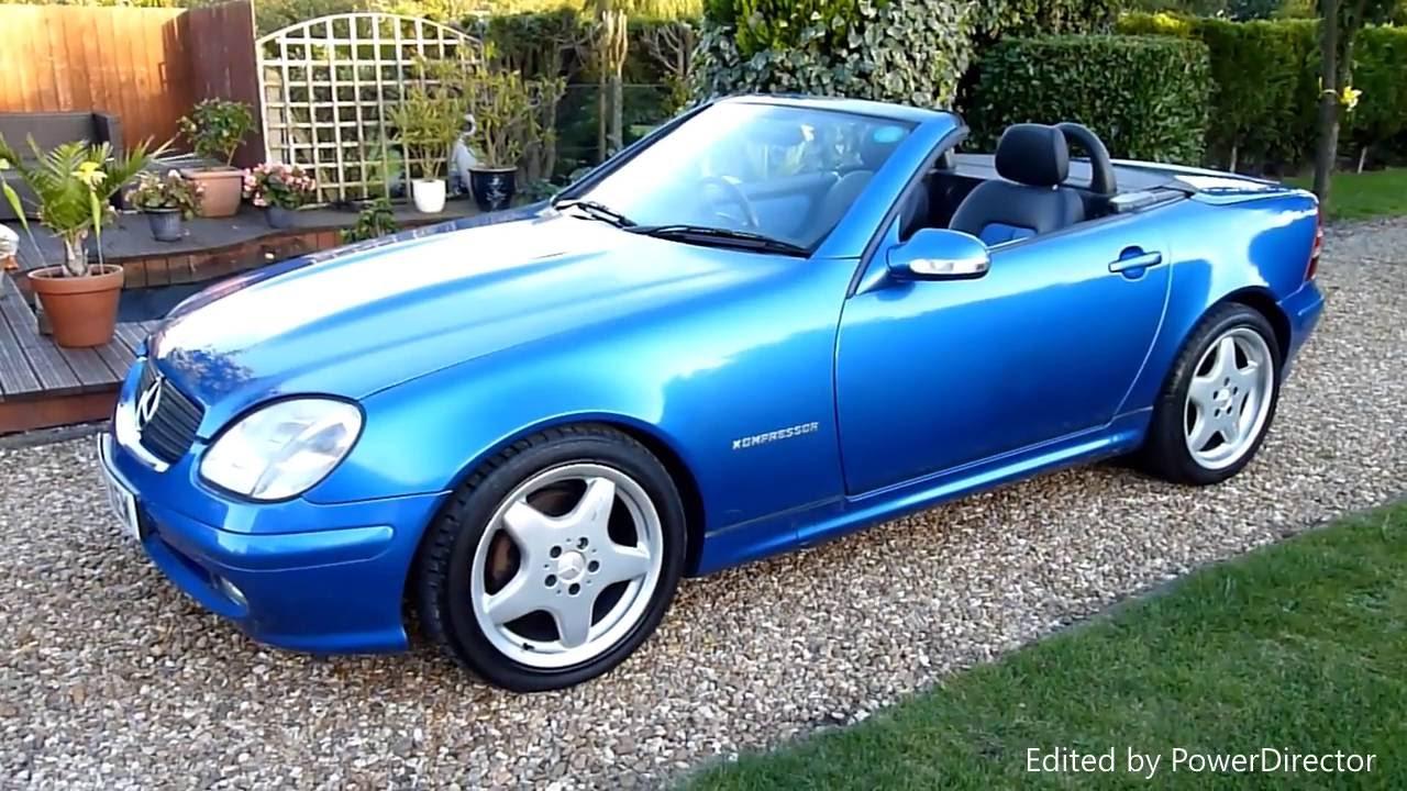 Video Review Of 2003 Mercedes Slk 230k Convertible For Sdsc Specialist Cars Cambridge Uk
