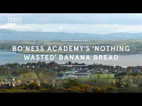 Tesco Food Love Stories | Bo'ness Academy's 'Nothing Wasted' Banana Bread