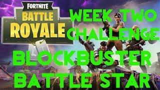 Fortnite Battle Royale | Season 4 Week 2 | Blockbuster Secret Battle Star Location Guide